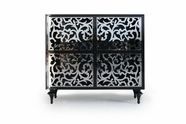 VIG Furniture VGDVAMBRA4DRCHEST Ambra - 4 Door Square Buffet