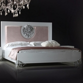 VIG Furniture VGDVLS403 Emma - Modern White Lacquer Bed