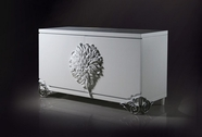 VIG Furniture VGDVLS510A Emma - White Lacquer Modern Buffet