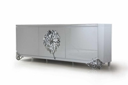 VIG Furniture VGDVLS511A Emma - White Lacquer Modern Buffet