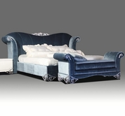 VIG Furniture VGDVRITA Rita - Transitional Fabric Bed