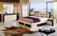 VIG Furniture VGERCONCORDE Concorde Modern Bed with Storage Set
