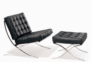 VIG Furniture VGET001-1 ET 001 Modern Lounge Chair with Ottoman
