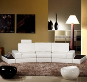 VIG Furniture VGEV-SP-6004 6004 - Modern Bonded Leather Sofa