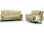 VIG Furniture VGEV-SP-9250B 9250 - Modern Bonded Leather Sofa Set