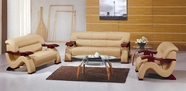 Vig Vgev2033-2 Divani Casa 2033-Modern Leather Sofa Set