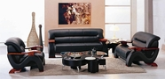 Vig Vgev2033-3 Divani Casa 2033-Modern Leather Sofa Set