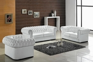 Vig Vgev2220 Divani Casa Paris-Transitional Tufted Leather Sofa Set