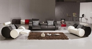 Vig Vgev3088-1 Divani Casa 3088-Modern Leather Sofa Set