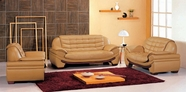 VIG Furniture VGEV7174-2 7174 Contemporary Camel Leather Living Room Set