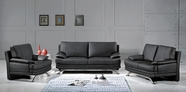 Vig Vgev9250 9250 Modern Black Sofa Set