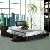 VIG Furniture VGEVB380 380 - Modern Eco-Leather Bed