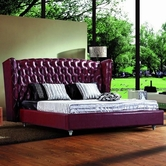 VIG Furniture VGEVB500R 500R - Transitional Eco-Leather Bed