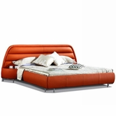 VIG Furniture VGEVBB803R B803R - Modern Eco-Leather Bed