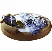 VIG Furniture VGEVBB806 B806 - Modern Round Bed