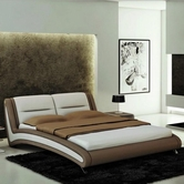 VIG Furniture VGEVBJ211 J211 - Contemporary Eco-Leather Bed