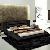 VIG Furniture VGEVBJ212 J212 - Contemporary Eco-Leather Bed