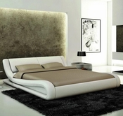 VIG Furniture VGEVBJ214 J214 - Contemporary Eco-Leather Bed