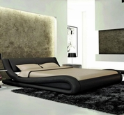VIG Furniture VGEVBJ214B J214B - Contemporary Eco-Leather Bed