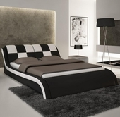VIG Furniture VGEVBS613 S613 - Contemporary Eco-Leather Bed