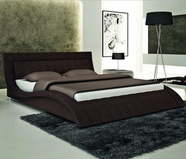 VIG Furniture VGEVBS614 S614 - Contemporary Eco-Leather Bed