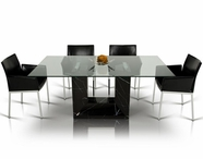 VIG Furniture VGEXTEMPO Tempo - Modern Marble Dining Set