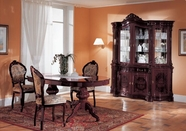 VIG Furniture VGFMREGINA-MHG Regina Mahogany Traditional Dining Set