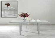 VIG Furniture VGGU2080DT-2 Nibble - Modern White Extensive Table
