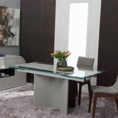 VIG Furniture VGGU2361XT-7 Xeno - Modern Extendable Dining Table