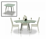 VIG Furniture VGGU2607 Brunch Extend-able Table