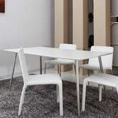 VIG Furniture VGGU2645DT Roger - Modern White Dining Table