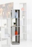 VIG Furniture VGGU840DP-2 Elevate 1 - Modern Grey Display Unit