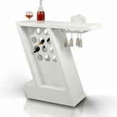 VIG Furniture VGGU852BT-WHT Zin - Modern White Mini-Bar Unit