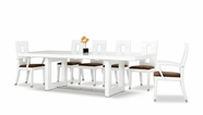 VIG Furniture VGGU903XT-1-SET Thor - Modern White Table and 6 Chair Dining Set