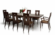 VIG Furniture VGGU903XT-SET Thor - Modern Wenge Table and 6 Chair Dining Set