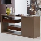 Vig Vggu970Bu Levi-Contemporary Buffet With Floating Shelves