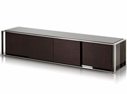 VIG Furniture VGHB131F B131F - Modern Ebony Lacquer TV Entertainment Center