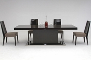 VIG Furniture VGHB131T-VGHBHN30 Noble Modern-Lacquer-Dining-Table-BHN30-Chair Dining Set