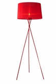 VIG Furniture VGHQL2010 2010 - Modern Red Floor Lamp