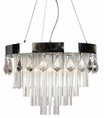 VIG Furniture VGHQS1004 S1004 - Modern Crystal Pendant Lighting