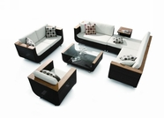 VIG Furniture VGHT-H01V3 HT01V3 7 Piece Patio Set including Cushions