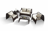 VIG Furniture VGHT-H28S HT28 Modern Patio Sofa Set