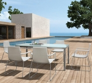 VIG Furniture VGHTDH60 H60 - Modern Patio Dining Set