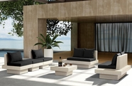 VIG Furniture VGHTDH62 H62 - Modern Patio Sofa Set With Coffee Table