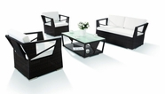 VIG Furniture VGHTH0909-S1 H0909 - 4 Pieces Modern Patio Sofa Set