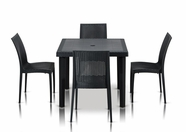 VIG Furniture VGIGBISTROT-TABLESQUARE-SET Bistrot - Modern Square Dining Table Set