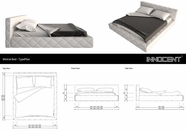 VIG Furniture VGINSVONO Svono- Modern Eco-Leather Bed