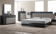 VIG Furniture VGKBF961-ONDA Onda - Modern Textured Bedroom Set