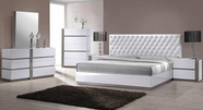 VIG Furniture VGKBVERO Vero - Modern White Tufted Bedroom Set