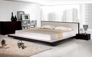 VIG-Furniture VGKCCOMFY Comfy Platform-Bed-Dresser-Mirror Modern Bedroom Set
